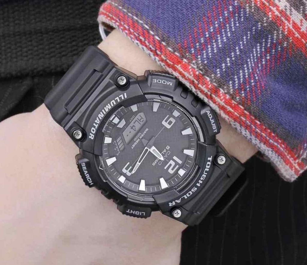 Reloj Casio AQS810W-1AVCF (Deportivo solar)