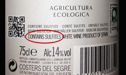 08 Los vinos blancos tienen más sulfitos que los tintos