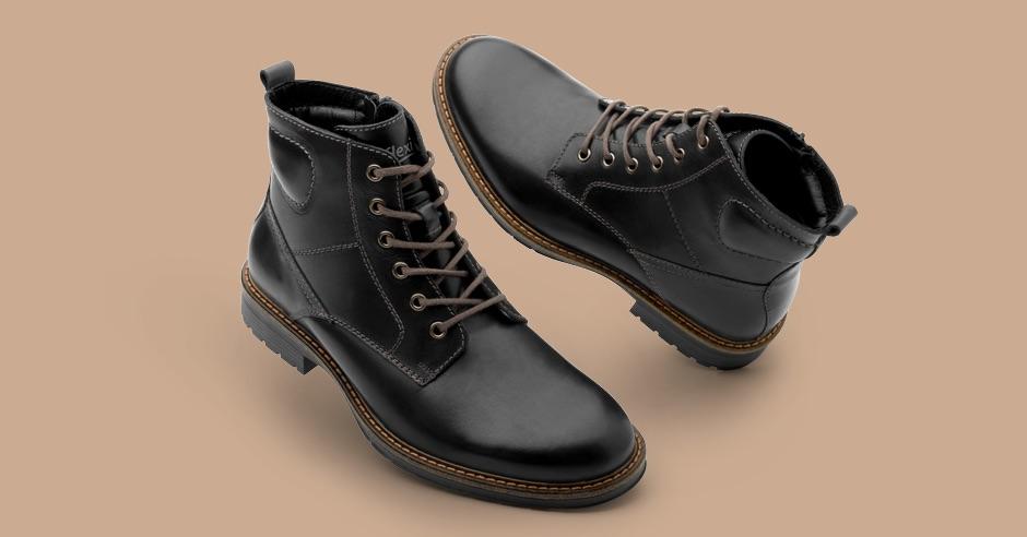 Cómo usar botines negros
