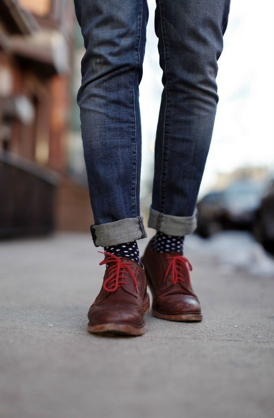 Como combinar los jeans hombre