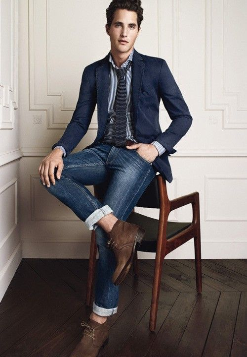 Cómo usar Jeans con blazer