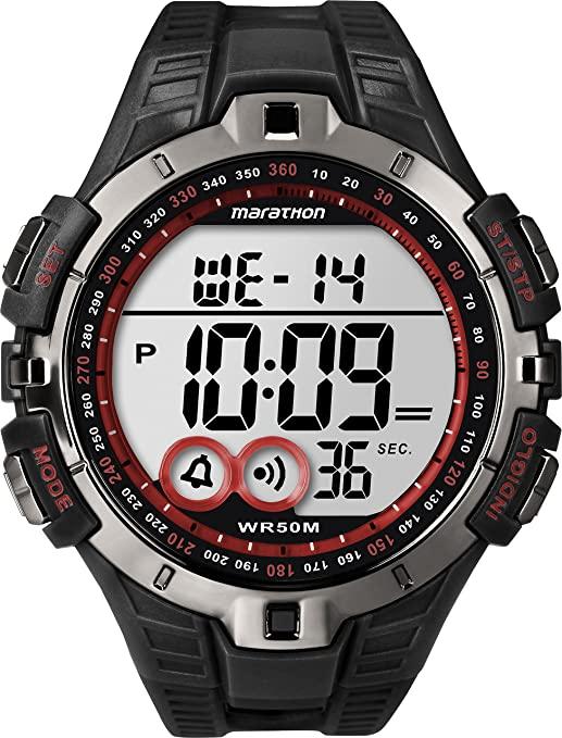 3- Reloj digital: Timex Marathon T5K423